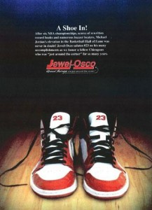 Jewell-Osco ad the subject of Michael Jordan lawsuit
