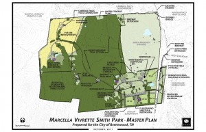 Master Plan Marcella Vivrette Smith Park
